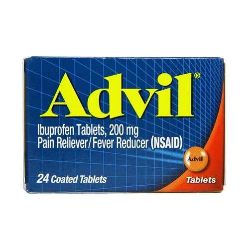 advil on top of years 60