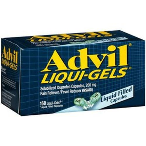 Advil Pain Reliever and Fever Reducer - 160 Liqui-Gels