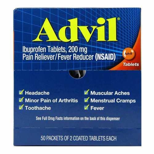 Advil Coated Ibuprofen 200 mg - 300
