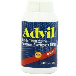 Advil Coated Ibuprofen 200 mg - 300 Coated Tablets