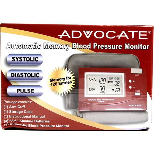 Automatic Memory Blood Pressure Monitor