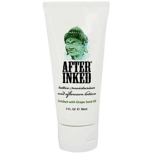 After Inked Tattoo Moisturizer And Aftercare Lotion 2 5 Oz