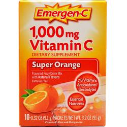 Alacer Emergen-C Vitamin C 1000 mg