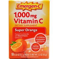 Alacer Emergen-C Vitamin C 1000 mg