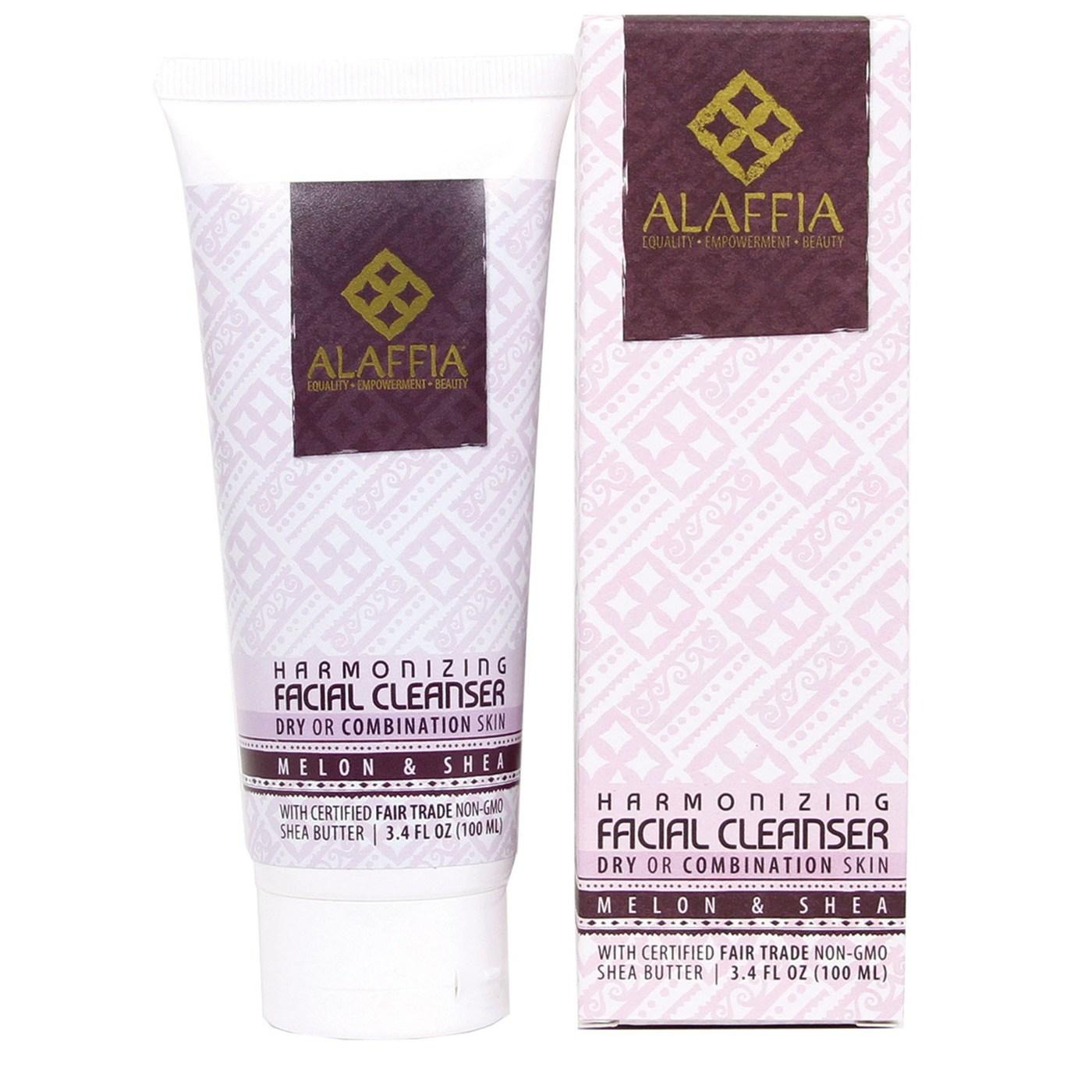 Alaffia Harmonizing Facial Cleanser Melon Amp Shea 3 4 Oz