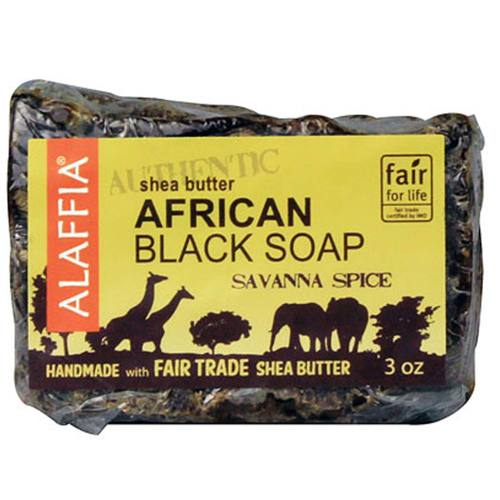 Authentic African Black Bar Soap
