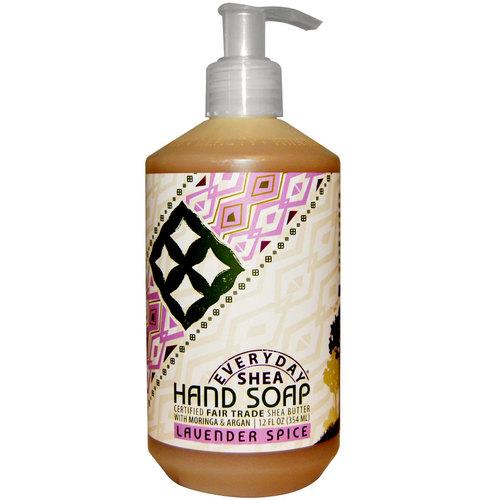 Alaffia Hand Soap Lavender Spice 12 Oz Evitamins Uk