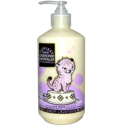 Shea Conditioner and Detangler for Babies and Up