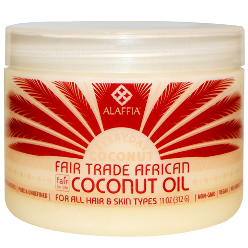 Pure African Coconut Oil for Skin and Hair