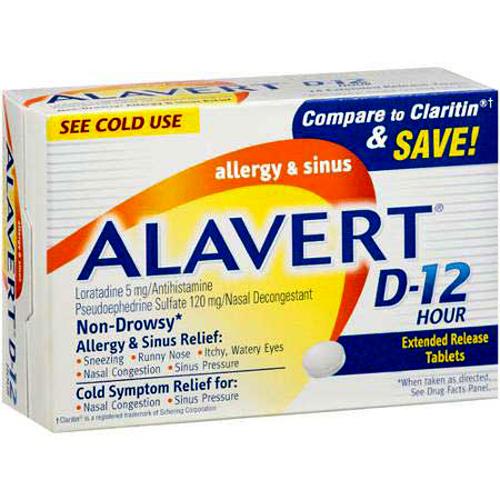 Information about Alavert.