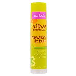 Alba Botanica Coconut Cream Lip Balm Tube