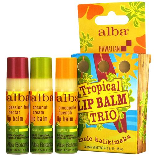 Hawaiian Tropical Lip Balm Trio