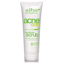 Alba Botanica Natural AcneDote Face  Body Scrub