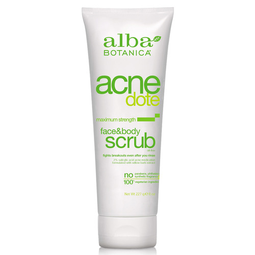 Natural AcneDote Face  Body Scrub
