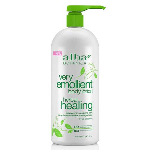Alba Botanica Very Emollient Body Lotion Herbal Healing  - 32 oz - 350308_front.jpg
