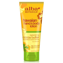 Alba Botanica Cocoa Butter Hand  Body Lotion