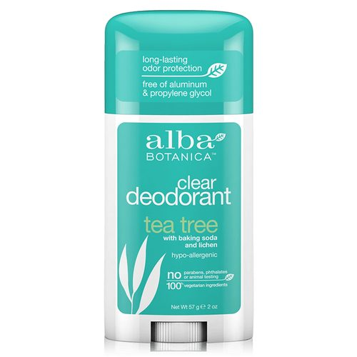 Alba Botanica Deodorant Stick Tea Tree Twist - 2 oz - 4777_front.jpg
