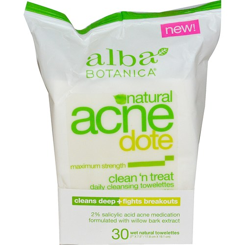 Acne Dote Clean 'n Treat Daily Towelettes