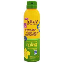 Alba Botanica Hawaiian Clear Spray Sunscreen