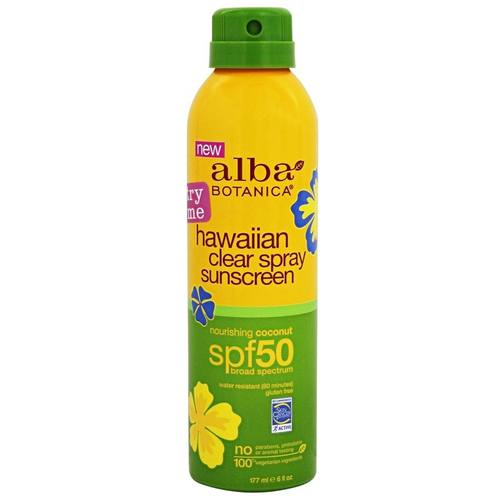 Hawaiian Clear Spray Sunscreen SPF 50