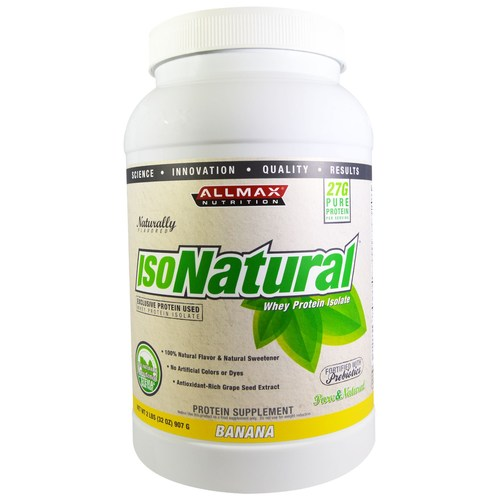 AllMax Nutrition Isonatural Banana - 32 oz - 276057_a.jpg
