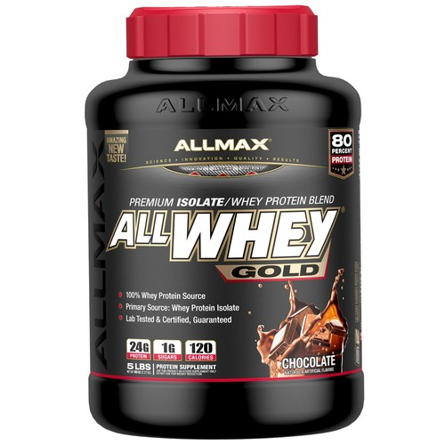 AllMax Nutrition Allwhey Gold Chocolate - 5 lbs - 276061_a.jpg