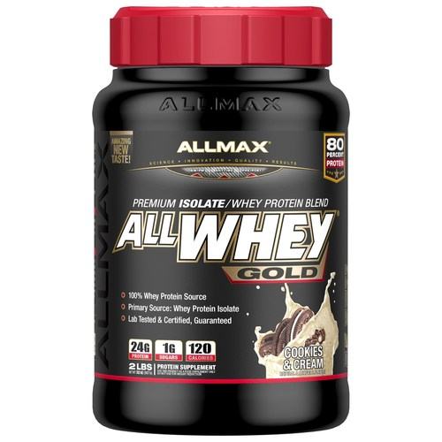 AllMax Nutrition Allwhey Gold Cookies and Cream - 2 lbs - 276066_a.jpg