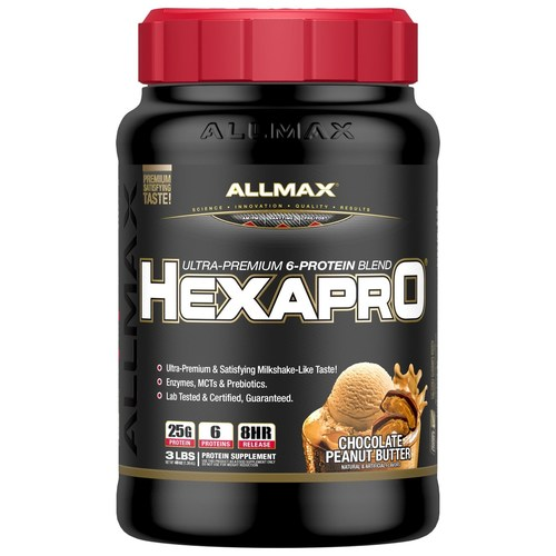 AllMax Nutrition Hexapro Chocolate Peanut Butter - 3 lbs - 276104_a.jpg