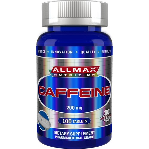 AllMax Nutrition Caffeine  - 200 mg - 100 Tablets - 276106_a.jpg