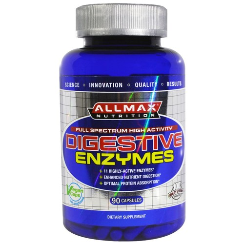 AllMax Nutrition Digestive Enzymes - 90 Capsules - 276118_a.jpg