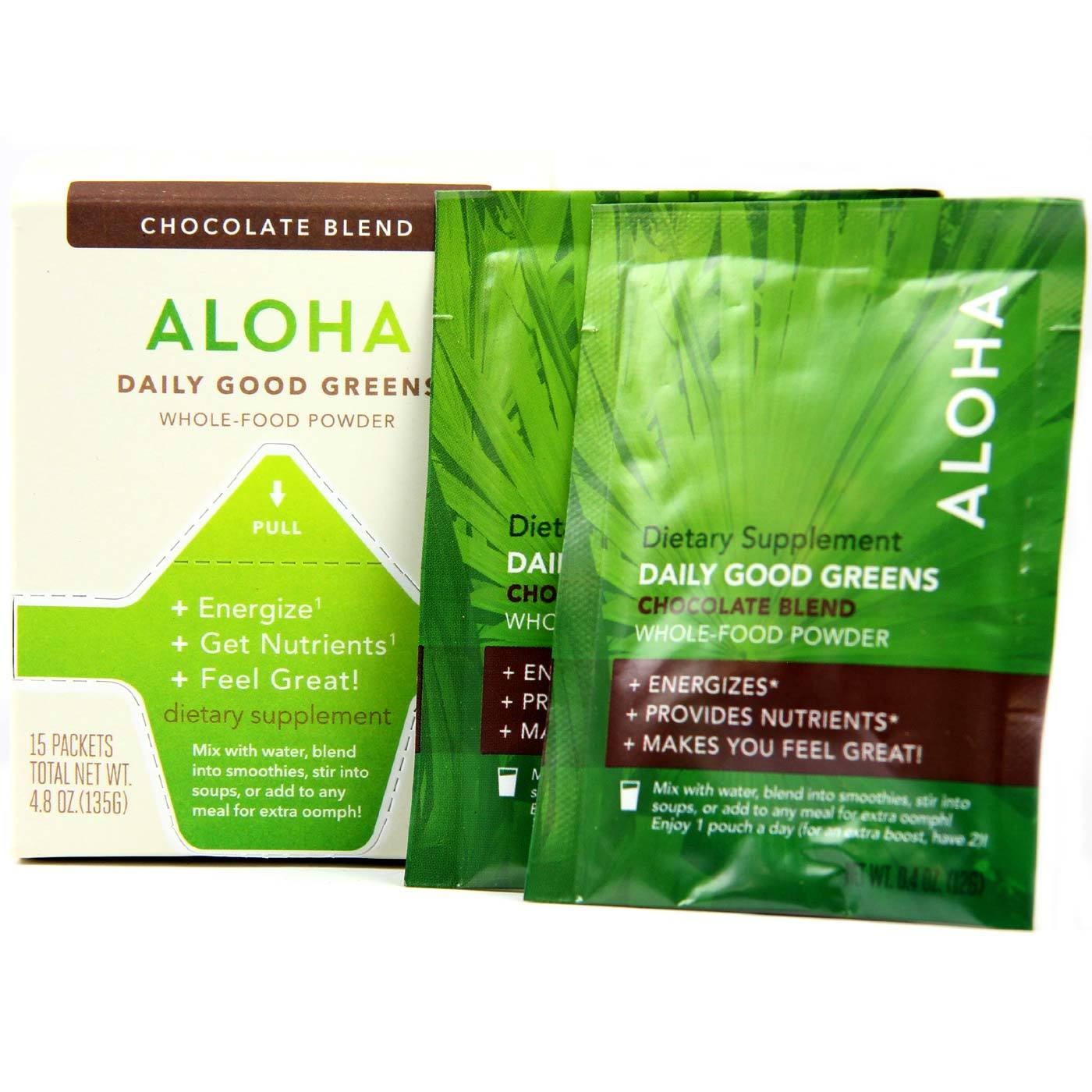 Buy Aloha Daily Good Greens, Original - 15 Packets at the lowest price from eVitamins. Find Daily Good Greens, Original reviews, side effects, coupons and more from eVitamins.