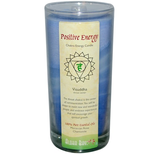 Aloha Bay Chakra энергии Candle, медитация - Visuddha - Positive энергии - 11 oz - 24181_0.jpg