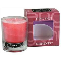 Aloha Bay Feng Shui Elements Palm Wax Candle