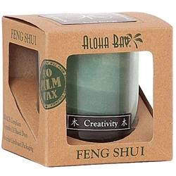 Aloha Bay Feng Shui Elements Palm Wax Candle