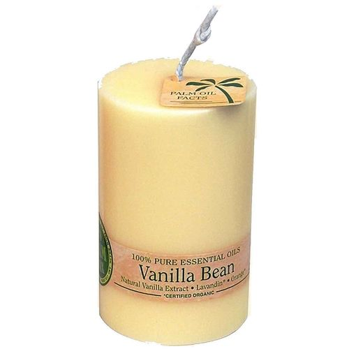 Ecopalm Scented Pillar Candle