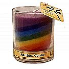 Aloha Bay Unscented Rainbow Candle
