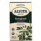 Alvita Organic Herbal Tea - Fenugreek Seed - 24 Bags