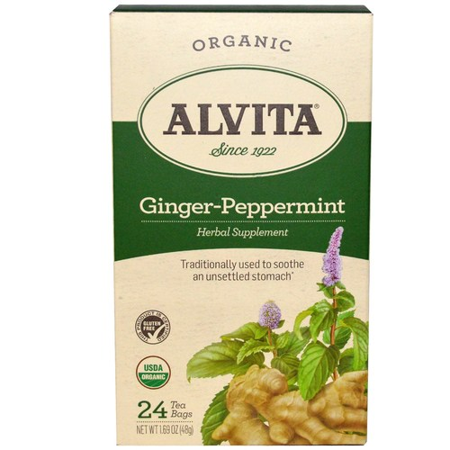 Ginger-Peppermint Tea