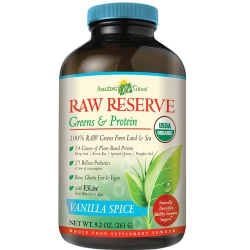 Raw Reserve Greens plus Protein