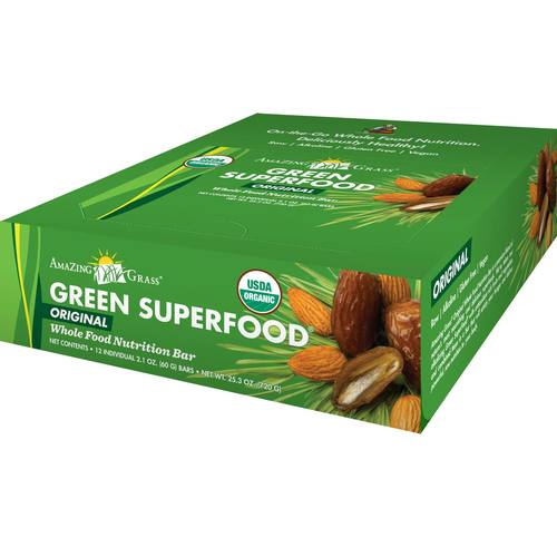 Green Superfood Energy Bars