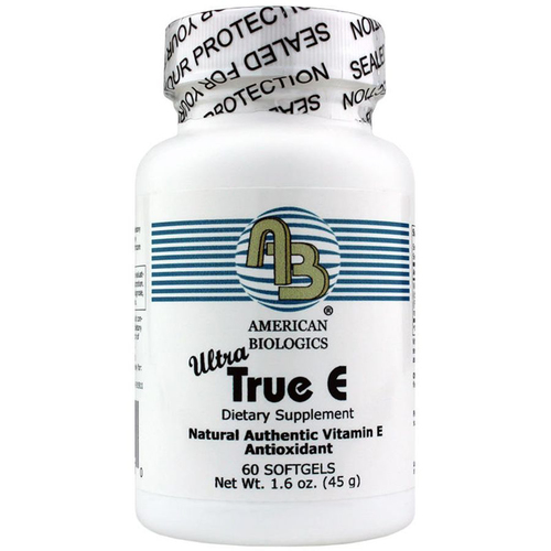 American Biologics Ultra True E - 60 Softgels
