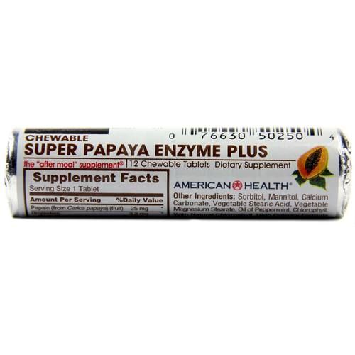 Super Papaya Enzyme Plus, Sugarless