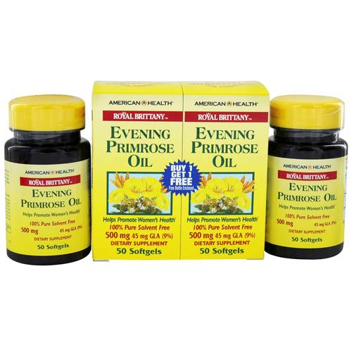 Royal Brittany Evening Primrose Oil 500 mg (Twin Pack)