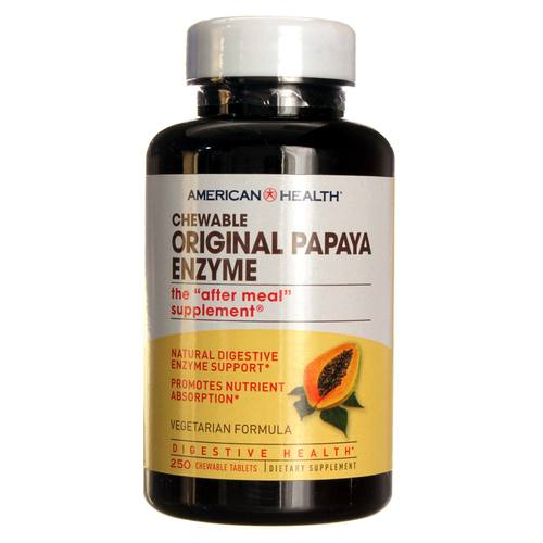American Health Original Papaya Enzyme - 250 Tablets - 20130104_103.jpg