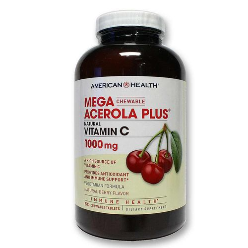 Mega Acerola Plus  w/ Vitamins C 1000 mg
