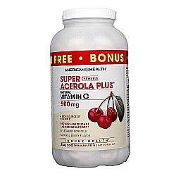 American Health Super Acerola Plus 500 mg