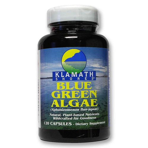 Klamath Shores Blue Green Algae Caps 500 mg