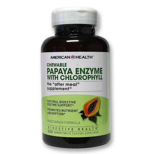 Papaya Enzyme with Chlorophyll (Chewable)