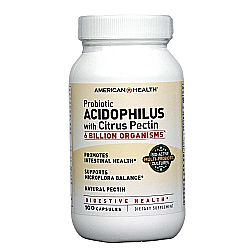 American Health Acidophilus Caps with Pectin