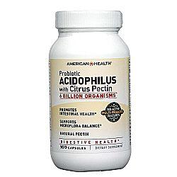 American Health Acidophilus Caps with Pectin